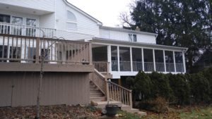 New Deck Enclosure Bloomfield Hills