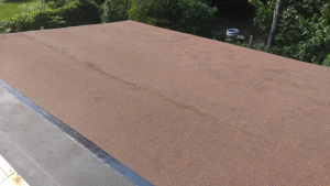 Bobson's Polybond roof with granulated finish