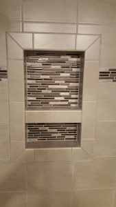 Bathroom Remodel Ceramic Tile Installation