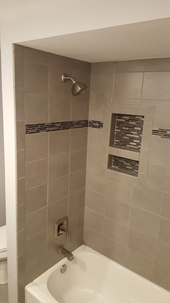ceramic tile with niche