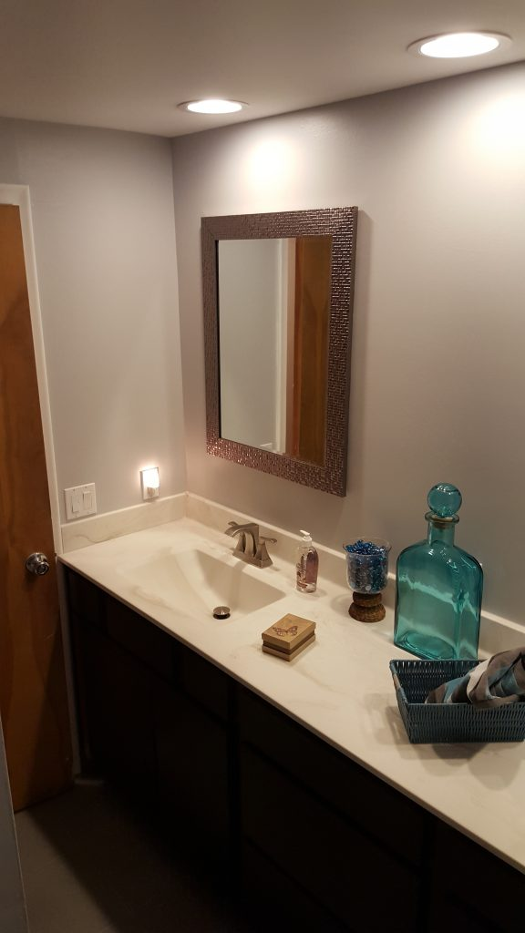 Bathroom Vanity Installation