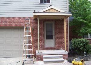 Porch Roof Frame