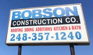 Bobson Construction Company Supporting Metro Detroit